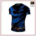 Ultra Instinct DBS Compression T-Shirt S Official Dragon Ball Z Merch