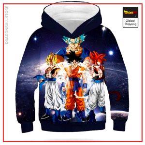 DBZ Kids Sweatshirt Goku Transformations 5 years Official Dragon Ball Z Merch
