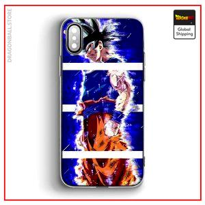DBS iPhone Case Ultra Instinct Uncontrolled iPhone 5 & 5S & SE Official Dragon Ball Z Merch