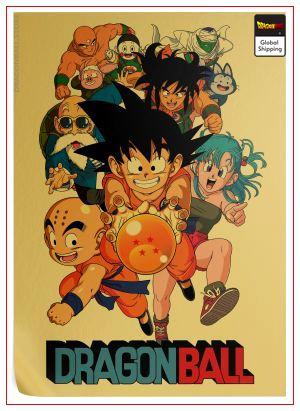 Dragon Ball Poster Crystal Ball Default Title Official Dragon Ball Z Merch