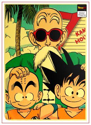 Dragon Ball Poster Original Saga Default Title Official Dragon Ball Z Merch