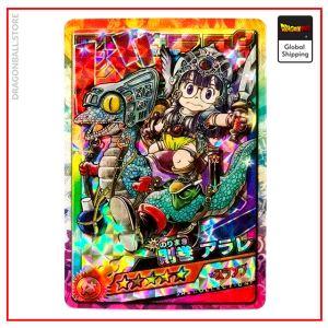 Dragon Ball Card Arale Norimaki Version 1 Official Dragon Ball Z Merch
