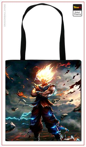 Tote Bag Dragon Ball Z Super Saiyan Fanart Default Title Official Dragon Ball Z Merch