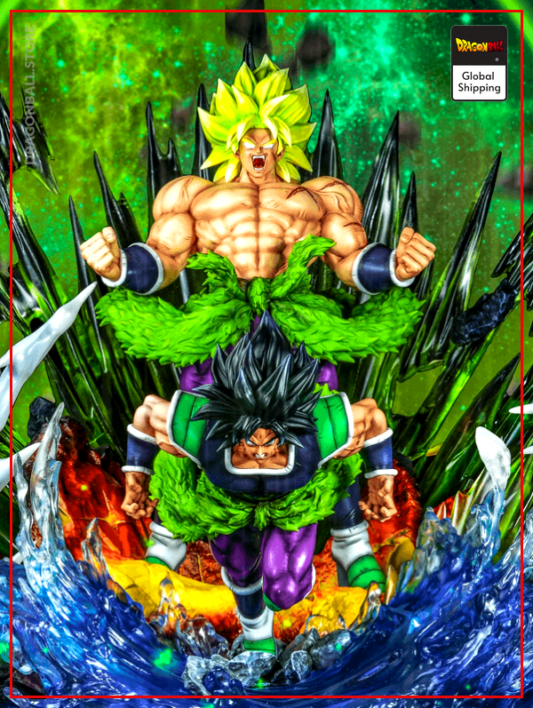 Broly Collector Figure Default Title Official Dragon Ball Z Merch