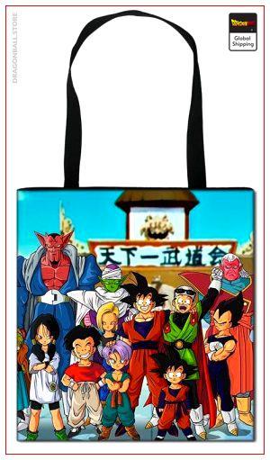 Dragon Ball Z Tote Bag Tournaments Default Title Official Dragon Ball Z Merch