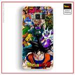 DBZ Samsung cover Goku Enemies Samsung S6 Official Dragon Ball Z Merch