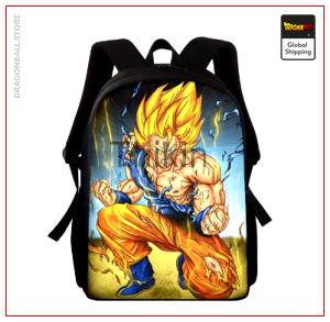 Dragon Ball Z Backpack  Goku Super Saiyan Default Title Official Dragon Ball Z Merch