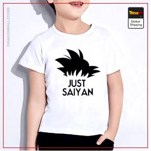 T-Shirt DBZ Child  Just Saiyan 3 years Official Dragon Ball Z Merch