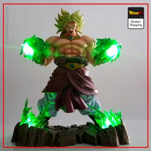 Dragon Ball Z Broly Legendary Saiyan LED Figure Default Title Official Dragon Ball Z Merch
