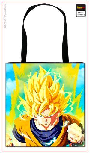 Dragon Ball Z Tote Bag Goku SSJ2 Default Title Official Dragon Ball Z Merch