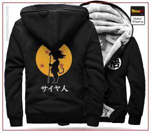 DBZ Fleece Jacket Goku Small (Black) H / S Official Dragon Ball Z Merch