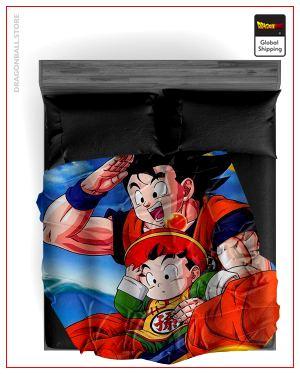 Dragon Ball Z Blanket Goku & Gohan 13 / 150X200cm Official Dragon Ball Z Merch