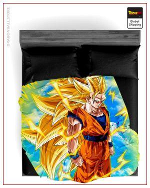 Dragon Ball Z Blanket Goku SSJ3 5 / 150X200cm Official Dragon Ball Z Merch
