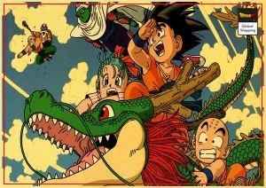 Dragon Ball Z Poster Shenron & Goku Small Default Title Official Dragon Ball Z Merch