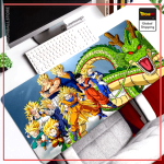 Dragon Ball Mouse Pad  Team Gamer (LARGE) Default Title Official Dragon Ball Z Merch