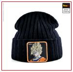 Dragon Ball Z Beanie  Goku Look Black Official Dragon Ball Z Merch