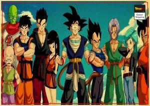 Dragon Ball GT Poster Characters Small Official Dragon Ball Z Merch