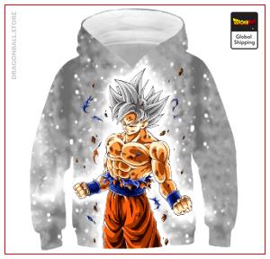 DBZ Kids Sweatshirt Ultra Instinct 4 YEARS Official Dragon Ball Z Merch