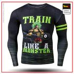 Compression T-Shirt Long  Broly S Official Dragon Ball Z Merch