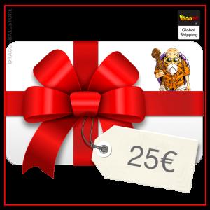 Gift Cards €25.00 - Kame sennin Official Dragon Ball Z Merch