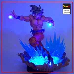Dragon Ball LED Figure Goku Ultra Instinct Default Title Official Dragon Ball Z Merch