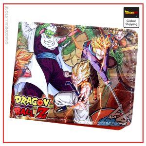 Dragon Ball Saga Z wallet Default Title Official Dragon Ball Z Merch
