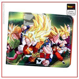 Dragon Ball Z Wallet Saiyan Epic Default Title Official Dragon Ball Z Merch