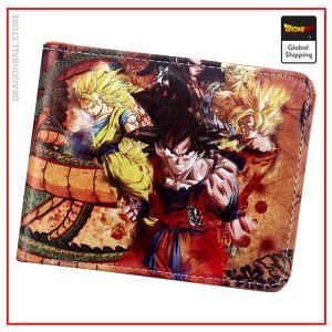Dragon Ball Z wallet Vintage Default Title Official Dragon Ball Z Merch