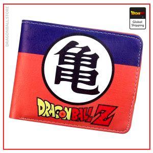"""Dragon Ball Z Wallet Kanji """"Kame"""" Default Title Official Dragon Ball Z Merch"""