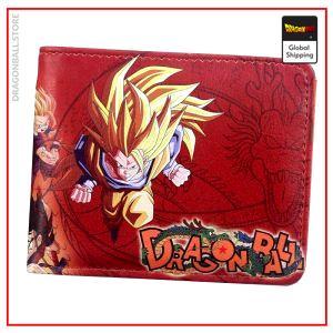Dragon Ball Z wallet Goku SSJ3 Default Title Official Dragon Ball Z Merch