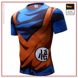Compression T-Shirt  Son Goku XS Official Dragon Ball Z Merch