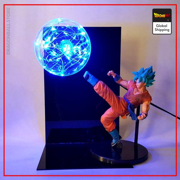 Dragon Ball Super Lamp Goku Super Saiyan Blue Default Title Official Dragon Ball Z Merch
