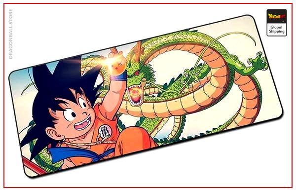 Dragon Ball Mouse Pad  Son Goku Small (BIG) Default Title Official Dragon Ball Z Merch