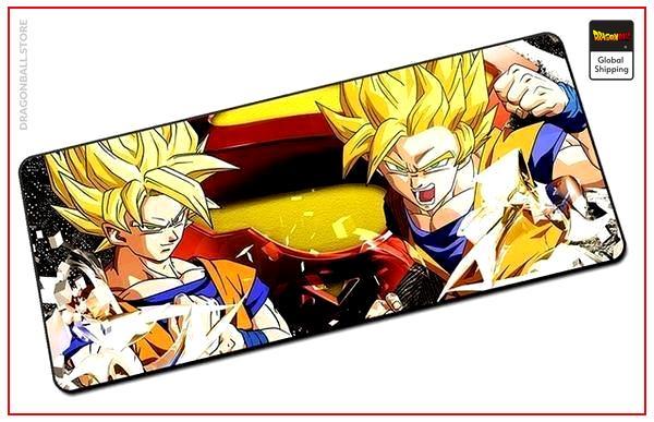 Dragon Ball Mouse Pad  Goku Saiyan (BIG) Default Title Official Dragon Ball Z Merch