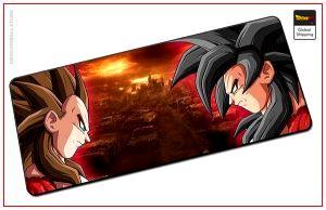Dragon Ball Mouse Pad  Goku Vegeta SSJ4 (LARGE) Default Title Official Dragon Ball Z Merch