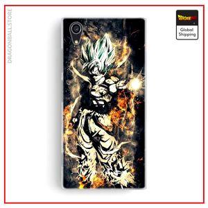 Sony DBZ Case Goku SSJ2 Xperia X Official Dragon Ball Z Merch