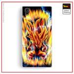 Sony DBZ Case Super Saiyan 3 Xperia X Official Dragon Ball Z Merch
