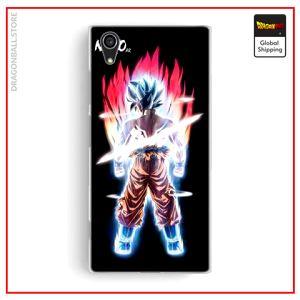 Sony DBS shell Blue Kaio-ken Xperia X Official Dragon Ball Z Merch