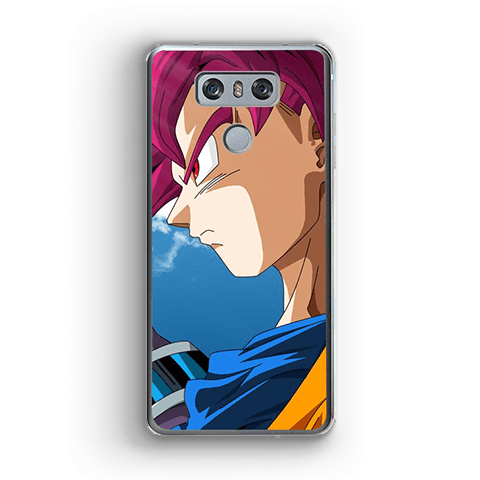 LG DBS Case Goku Super Saiyan God G4 Official Dragon Ball Z Merch