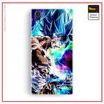 Sony DBZ Case Power Blue Xperia X Official Dragon Ball Z Merch