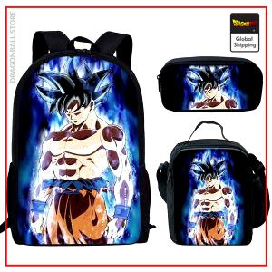 Dragon Ball S Set  Bag + Pouch + Case Ultra Instinct 1 Official Dragon Ball Z Merch
