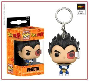 Funko POP Keychain  DBZ Vegeta Default Title Official Dragon Ball Z Merch