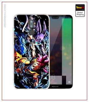 Huawei DBS Case Combat (Tempered Glass) Huawei NOVA 3i Official Dragon Ball Z Merch