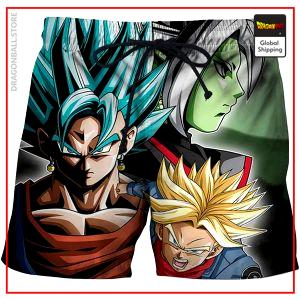 Dragon Ball Swim Shorts  Future Trunks Bow S Official Dragon Ball Z Merch