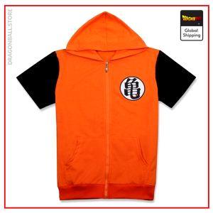 DBZ Short Sleeve Sweatshirt  Kame M Official Dragon Ball Z Merch