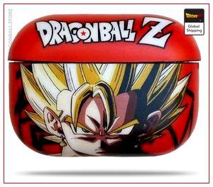 GokuPods Pro DBZ Case Sangoku Super Saiyan Default Title Official Dragon Ball Z Merch