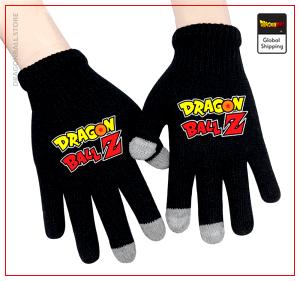 Dragon Ball Z Gloves Logo Default Title Official Dragon Ball Z Merch