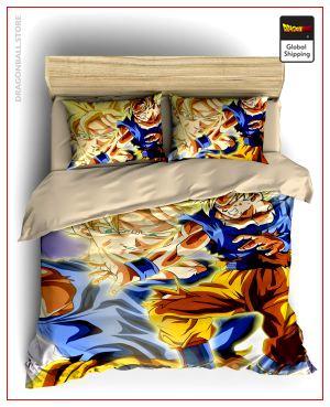 Comforter Cover DBZ  Goku vs Buu Single - AU (140x210cm) Official Dragon Ball Z Merch