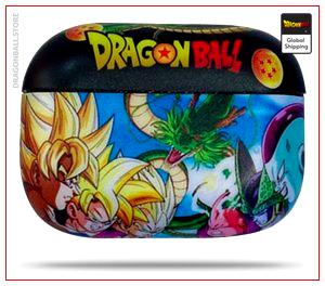 GokuPods Pro DBZ Case Saiyan Saga Default Title Official Dragon Ball Z Merch