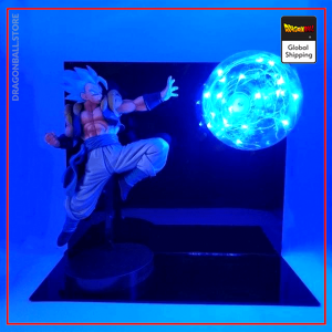 Dragon ball Super Lamp Gogeta Blue Default Title Official Dragon Ball Z Merch